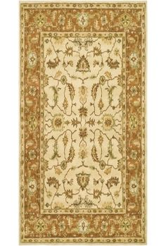 Heritage 251A Heritage Collection of Traditional Floral Design Area Rug - Safavieh Rugs | Rugs by SelectRugs.com