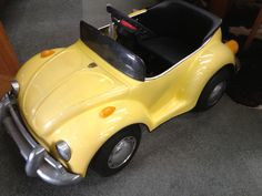Ride in style? VW Beetle pedal car. The Mill Markets - Ballarat, Daylesford & Geelong (from Stall #58 Geelong) www.millmarkets.com.au