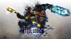 LoL - Demacia Steel Legion WP   Lux - Garen by ~xRazerxD on deviantART   League of Legends