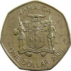 JAMAICA / 1996  -  1  DOLLAR