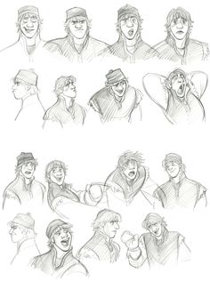 Frozen character design | Illustrator: Jin Kim