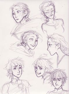 Hiccup and Valka by burge <<< You really can see the amazing family resemblance between the two of them.