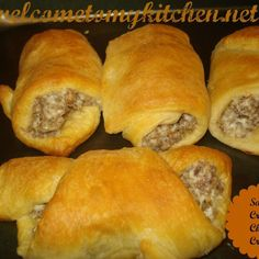 Sausage Cream Cheese Crescents Recipe | Just A Pinch Recipes