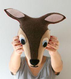 Deer Pillow  Woodland Nursery  Kids by OgsploshAccessories on Etsy