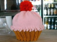 cupcake hat free knitting pattern for ages 1-4yrs Baby Hats Knitting edc7f34b404