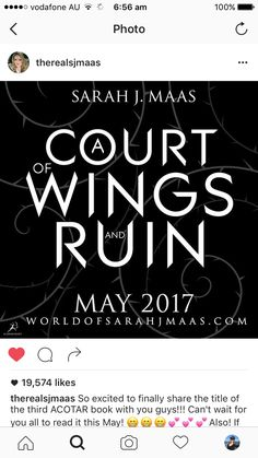 Holy gods... A Court of Wings and Ruin #ACOTAR # ACOMAF #ACOWAR ACOTAR3