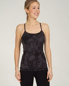 3f37a0e8d3832 Another of my favorite tanks for Pure Barre--Lululemon Power Y Tank in Black