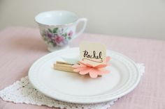 A place card holder DIY for any occasion!