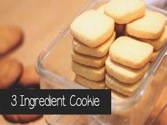 עוגיות חמאה נימוחות שמשתלבות נהדר לצד כוס תה או שוקו:) של אחר צהריים... מתכון + סרטון איך מכינים בקלי קלות עם שלושה מרכיבים בלבד!