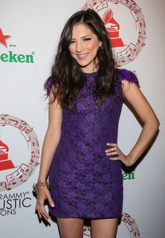 Singer Paty Cantu attends the Latin Grammy Acoustic Sessions at Club Ragga on September 5 2012 in Mexico City Mexico