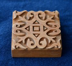 block by Savelyeva Ekaterina Science Projects, Projects To Try, Medieval Pattern, Viking Reenactment, Laser Cutter Projects, Fabric Stamping, Textile Prints, Wood Blocks, Print Patterns