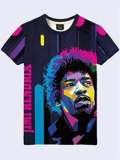 Soundtrack Recordings from the Film Jimi Hendrix Black T-shirt Custom Size S-2XL