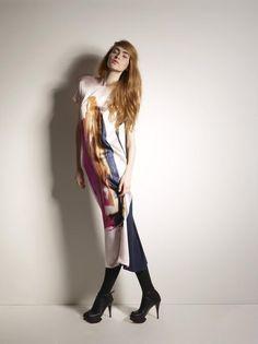 Opaque knit tights. Twenty8Twelve Fall 2012