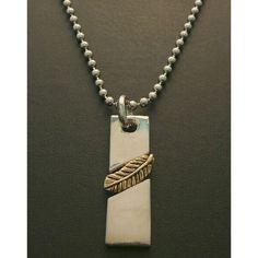 激シブ お兄系プレートtypeメンズネックレス(BR 27) ハンドメイド インテリア 雑貨 Handmade necklace ¥980yen 〆05月01日