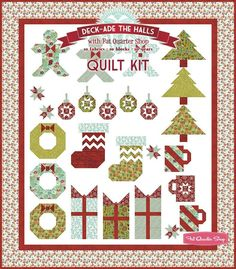 Deck-ade the Halls Quilt-Along