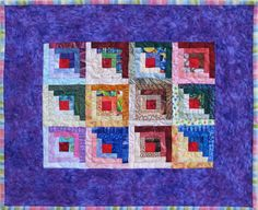 Mini Log Cabins Kit – Quilting Confections