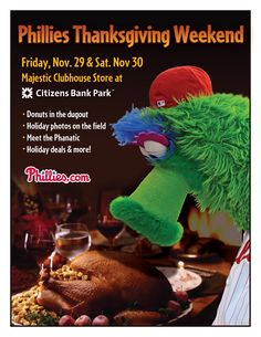 Phillies Thanksgiving Weekend