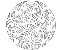 maori pattern colouring pages Maori Designs, Henna Designs, Doodles Zentangles, Ta Moko Tattoo, Tattoo Maori, Maori Symbols, Maori Patterns, Polynesian Art, Polynesian Tattoos