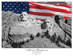 Mount Rushmore ~ Rapid City, South Dakota Jeremiahs dream graduation Vacation!