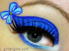alice in wonderland eye makeup