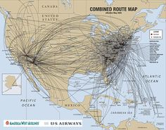 006d3e5a95ce How US Airways  Route Map Makes Upgrading with Miles a Great Option for  East