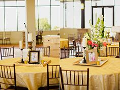 Picture frames to frame centerpiece this is kinda what I was thinking for the reception