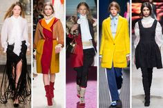 From left to right: Emilio Pucci, Philosophy, DSquared2, MSGM and Alberta Ferretti. Photos: Imaxtree