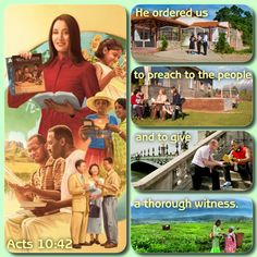 """Monday, July25He ordered us to preach to the people and to give a thorough witness.—Acts 10:42.All of us are subject to """"the law of the Christ."""" (Gal. 6:2) That law includes all that Jesus taught. Foremost among Jesus' teachings is that his followers should display love. (John 13:35; Jas. 2:8) And one of the primary ways we show love for God, for Christ, and for our neighbor is by preaching the good news of the Kingdom. (John 15:10; Acts 1:8) Jesus commanded only a relatively small number…"""