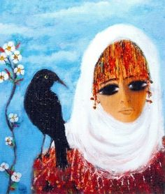 Fikret Otyam Contemporary Decorative Art, Modern Pictures, Painter Artist, Naive Art, Flower Art, Illustrators, Folk Art, Art Gallery, Artsy