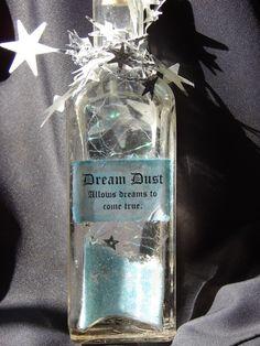 Hadas hadas polvo botellas hermoso y por ChristinesCreations1