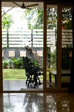 Outdoor seating design by Abhishek Dani design