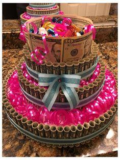 21st Birthday Presents, Sweet 16 Birthday Cake, Birthday Cakes For Teens, Homemade Birthday Cakes, 14th Birthday, Birthday Celebration, 18th Birthday Gifts For Girls, 21st Birthday Ideas For Girls Turning 21, 18th Birthday Present Ideas