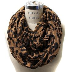 Scarfand's Leopard Infinity Scarf - List price: $15.00 Price: $8.10 Saving: $6.90 (46%)