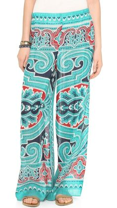 Summer palazzo pants! Love these!