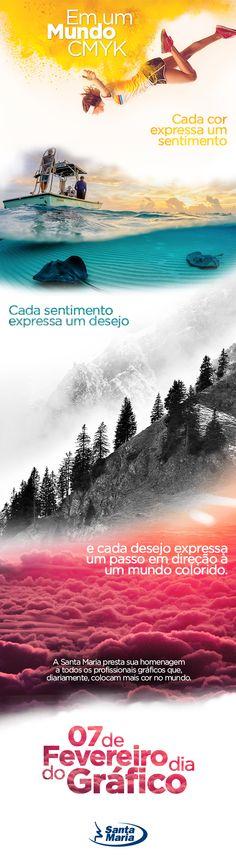 peça: e-mail marketing  / campanha: Dia do Gráfico  / cliente: Santa Maria - Papel e Celulose