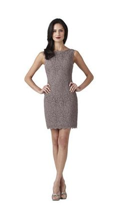 Darling Short Lace Dress For Mother Of The Bride Or