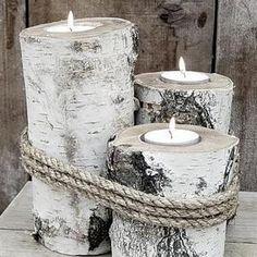 Bekijk de foto van lottemanou met als titel Super gave houten kaarsen  en andere inspirerende plaatjes op Welke.nl.
