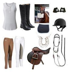 """Equestrian"" by emmaraej on Polyvore featuring Royal Robbins and Frye"