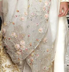 Christian Dior haute couture s/s 2005.....most likely Lesage.....