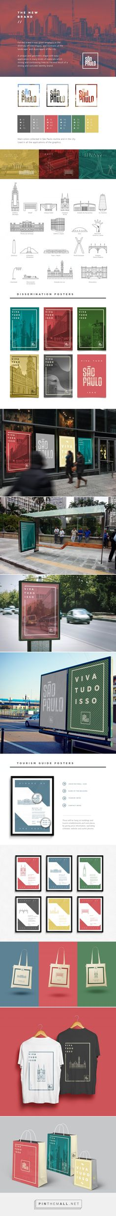 São Paulo City | Rebrand Propose by Haran Amorim