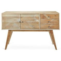 """Check out this item at One Kings Lane! Carmel 56"""" Modern Sideboard, Natural"""