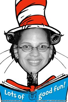 Seuss is on the Loose! Everyone knows that I love DR. Around school I'm known as the Cat in t. Photos Booth, Photo Booth Props, Fayette County, Relay For Life, Dr Suess, Happy Birthday, Birthday Ideas, Summer Kids, Girl Scouts