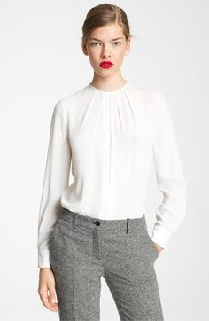 Michael Kors Silk Blouse. Perfect for work.
