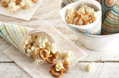 Cheesy Parmesan Popcorn Recipe - Kraft Recipes