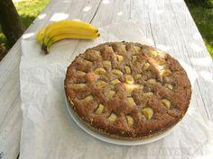 Hotový banánovo-makový koláč