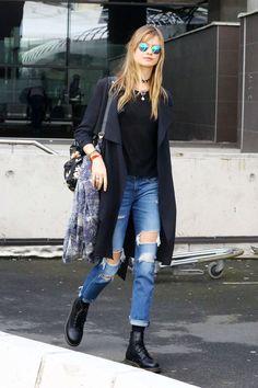 skinnyvogu-e: x www.fashionclue.net | Fashion... A Fashion Tumblr full of Street Wear, Models, Trends & the lates