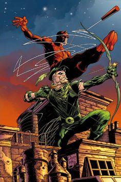 Daredevil + Green Arrow, Joe Quesada