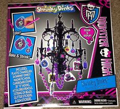 Monster High Shrinky Dinks     Great To Decorate Monster High Themed Bedroom