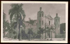 Ponce Cathedral, Iglesia Real Photo ca. 1910-1920