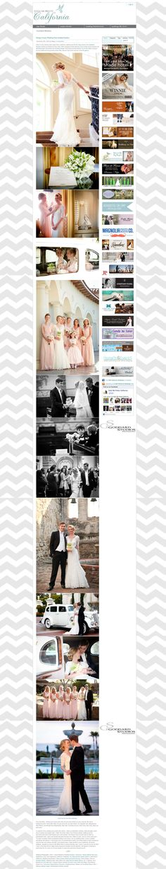 Michael and Diana's wedding, Photographed by Goddard Studios featured on Style Me Pretty